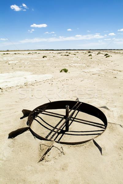 Iklim değişikliği ısı zemin kırık büyüyen Stok fotoğraf © THP