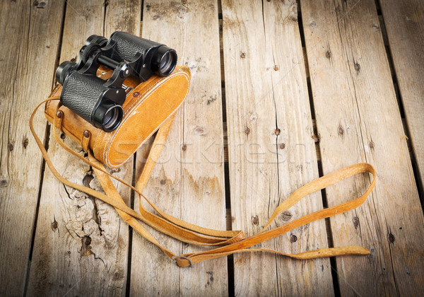 Old Binoculars Stock photo © THP