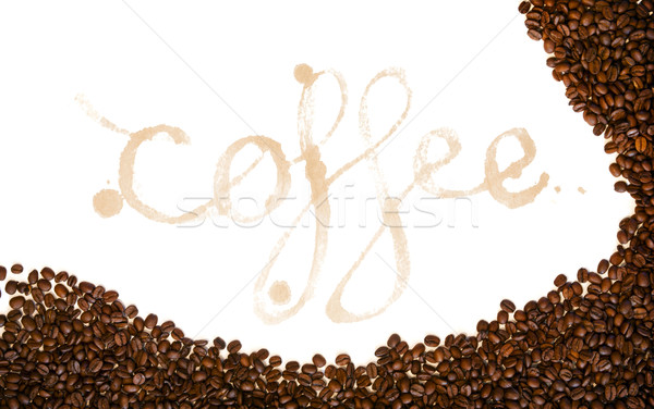 Coffee Stains Stock photo © THP