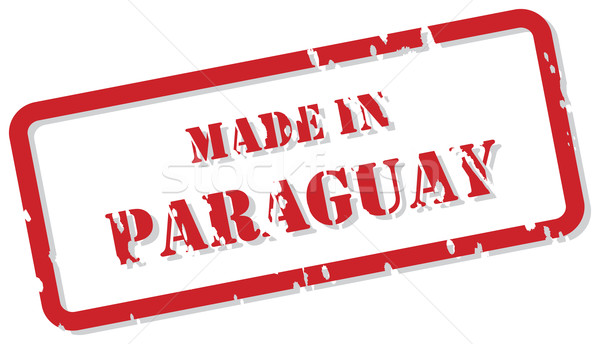 Paraguay Stamp Stock photo © THP
