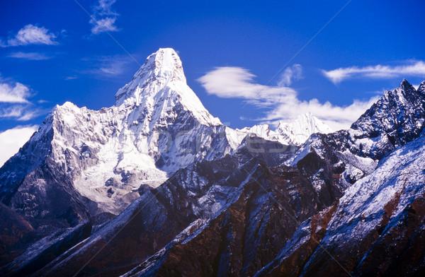 Stok fotoğraf: Nepal · everest · bölge · dağ
