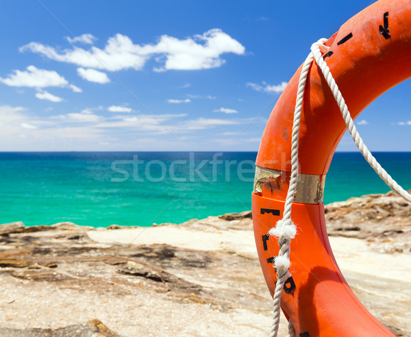 Surf Life Saver Float  Stock photo © THP