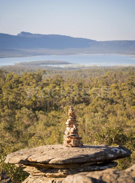 камней идеальный баланса мелкий Focus Сток-фото © THP