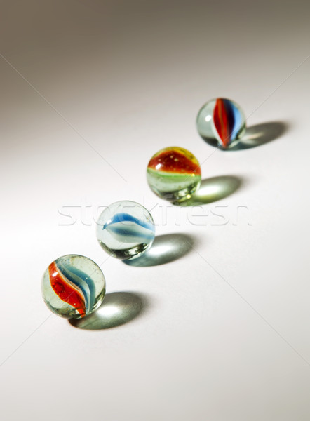 Shadowed Marbles Stock photo © THP