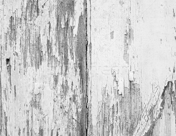 Weathered Paint on Wood Stock photo © THP