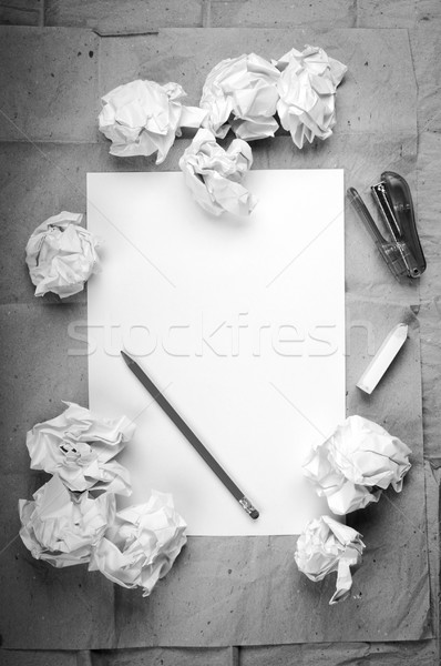 Creative Work Background Stock photo © THP