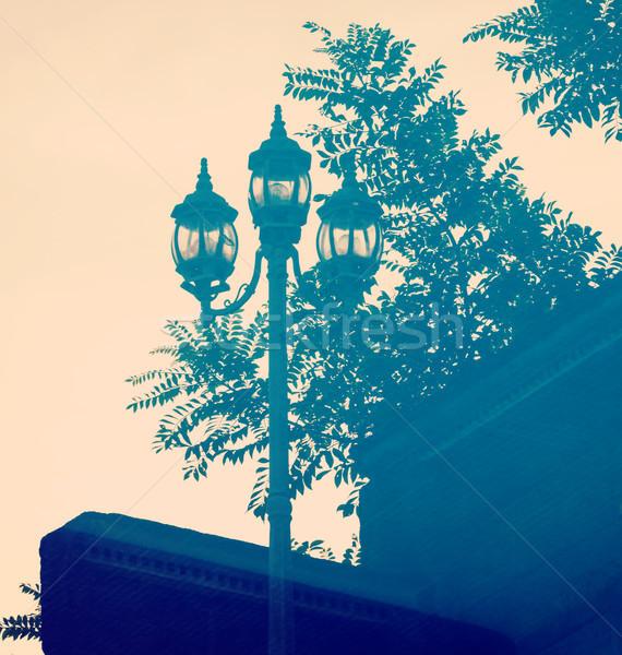 Street Lamp Reflection Stock photo © THP