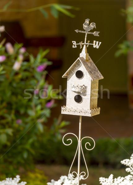 декоративный белый классический флюгер Top Сток-фото © THP