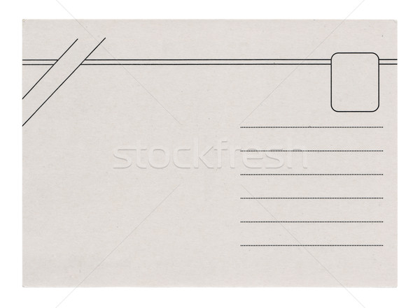 Postcard Isolated Stock photo © THP