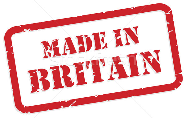 Made In Britain Stamp Stock photo © THP