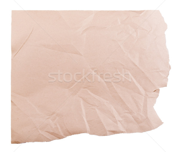 Torn Brown Paper Stock photo © THP