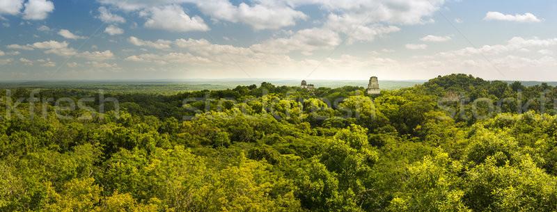 Гватемала Панорама город природы путешествия каменные Сток-фото © THP
