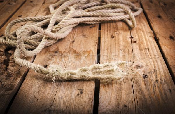 Frayed Rope Stock photo © THP