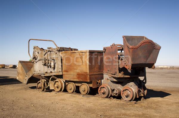 Mining Equipment Stock photo © THP