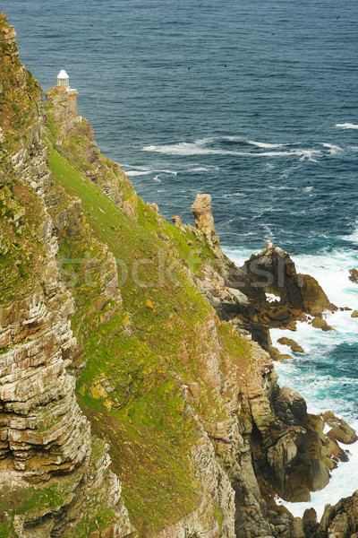 Cape Point Lighthouse South Africa Stock photo © THP