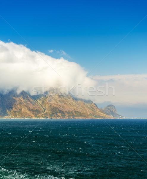 Kustlijn tabel berg park South Africa Stockfoto © THP