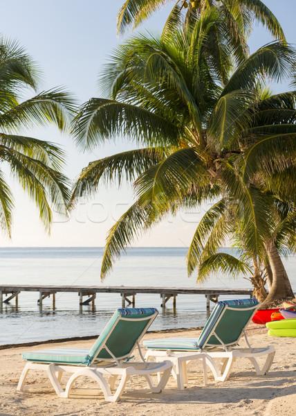 Summer Resort Vacation Stock photo © THP