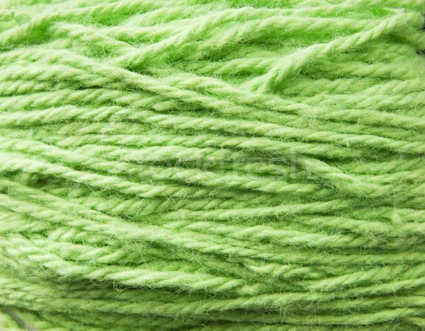 Green Wool Texture Stock photo © THP