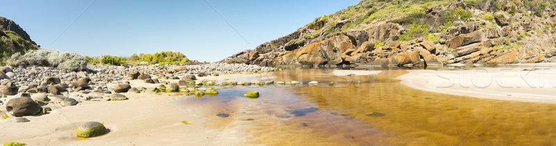 Félsziget Dél-Ausztrália mély patak konzerválás park Stock fotó © THP