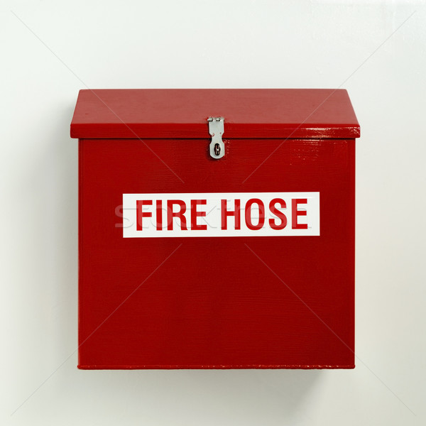 Fire Hose Box Stock photo © THP