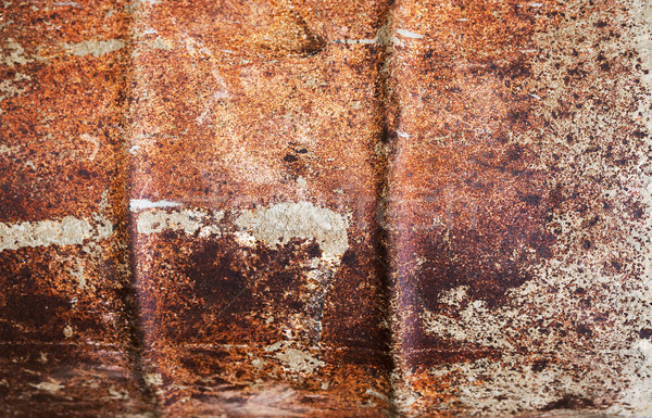 Rusty Drum Background Stock photo © THP