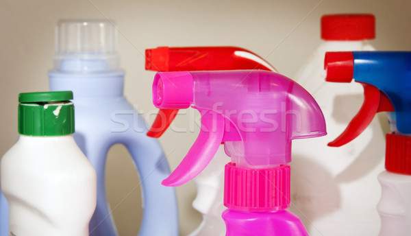Cleaning Products Stock photo © THP
