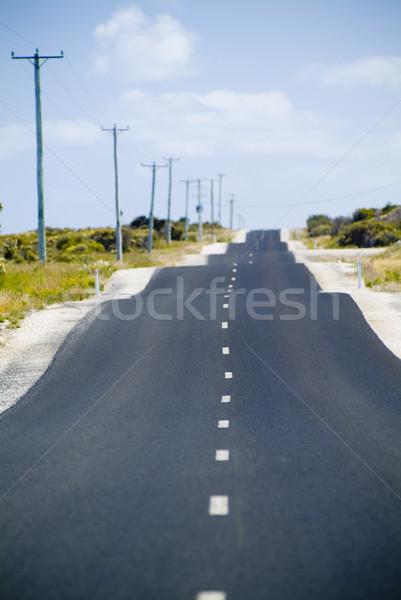Bumpy Road Stock photo © THP