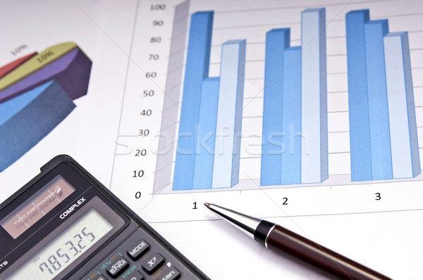 Finance Growth Stock photo © THP