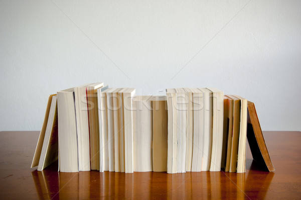 Row of Books Stock photo © THP