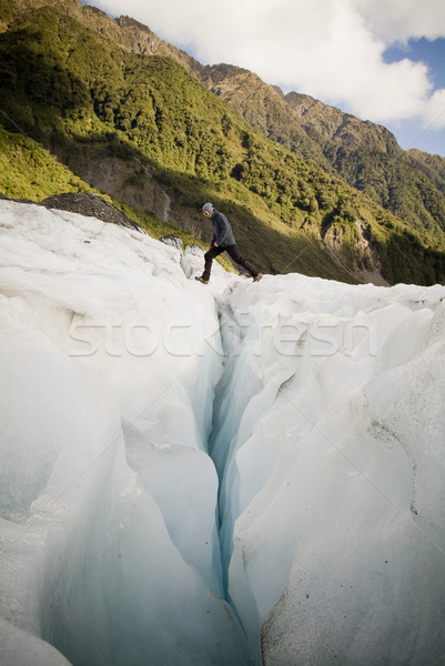 Ice Climber Stock photo © THP