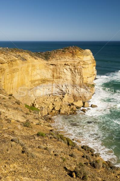 Zwölf berühmt Wahrzeichen groß Ozean Straße Stock foto © THP