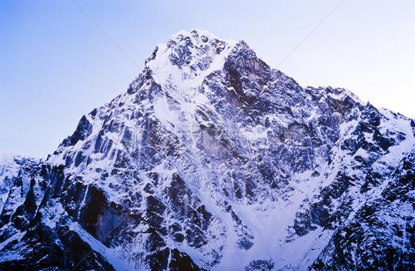Himalaya montagna spettacolare montagna scenario Monte Everest Foto d'archivio © THP