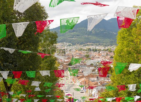 View Of San Cristobal de Las Casas Stock photo © THP