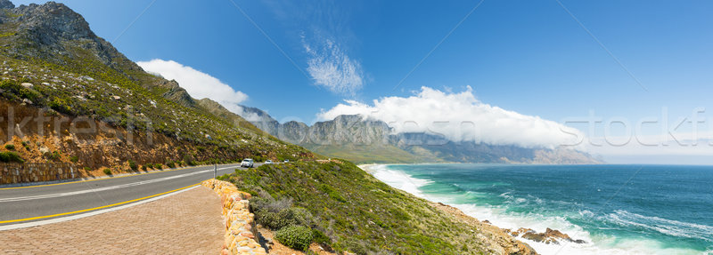 Coastal Road South Africa Stock photo © THP