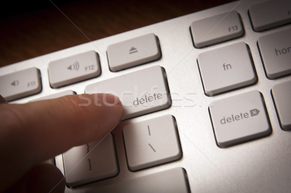 Delete Key Stock photo © THP