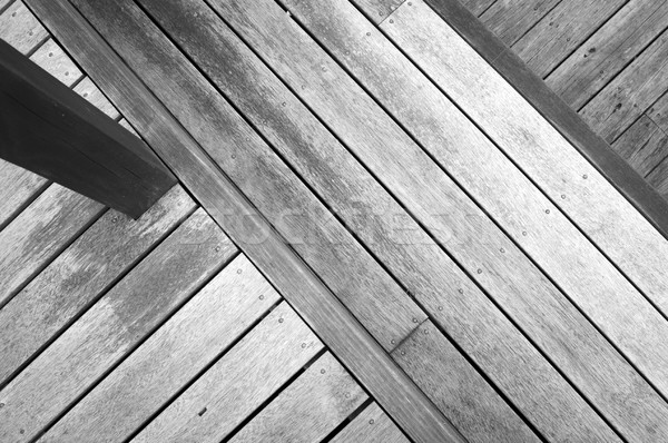 Wooden Decking Stock photo © THP