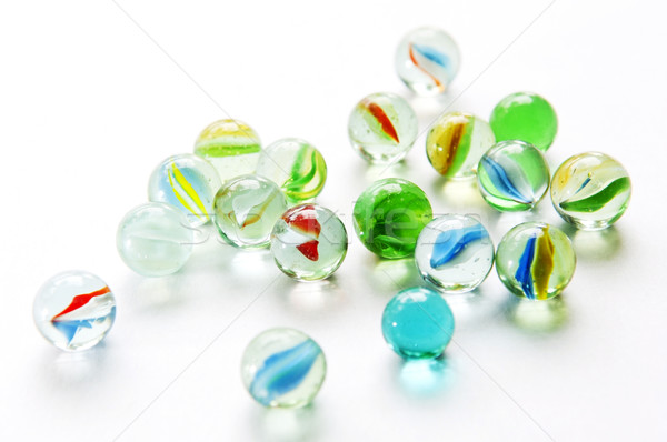 Isolated Marbles Stock photo © THP