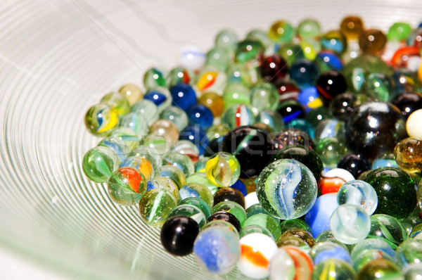 Stack of Marbles Stock photo © THP