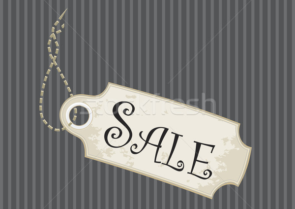 Fancy Sale Tag Stock photo © THP