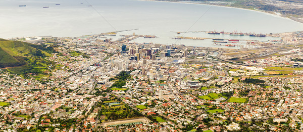 Cape Town South Africa panoramisch stad landschap Stockfoto © THP