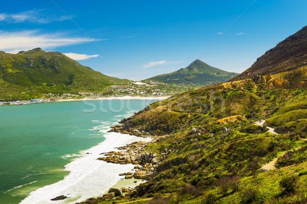 Sürmek Güney Afrika manzaralı manzara deniz yaz Stok fotoğraf © THP
