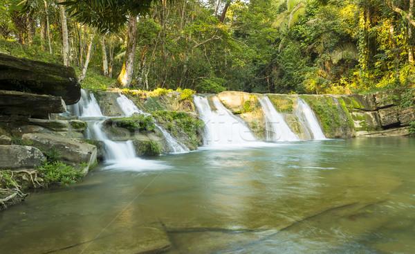 природного бассейна водопада Белиз Сток-фото © THP