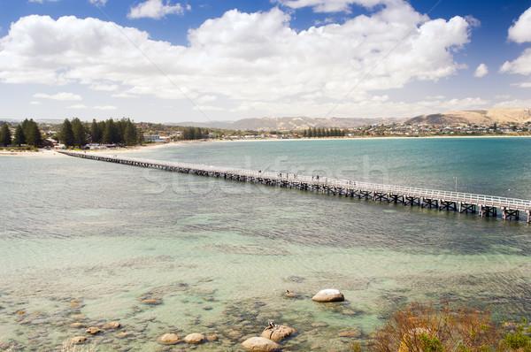Vencedor porto sul da austrália fora granito ilha Foto stock © THP