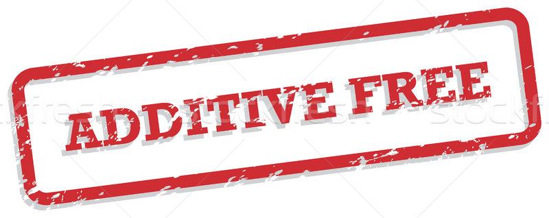 Gratis Rood vector voedsel teken Stockfoto © THP