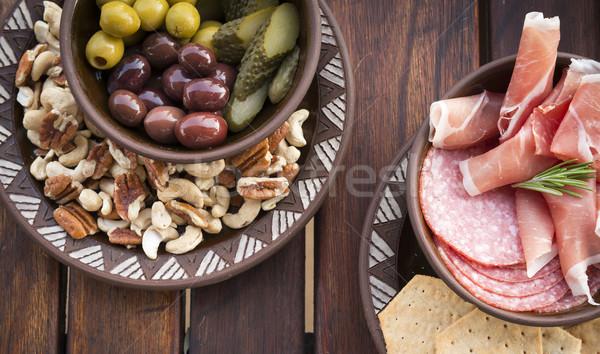 Food Platters Stock photo © THP