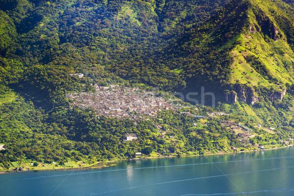 San Pablo La Laguna Lake Atitlan Stock photo © THP
