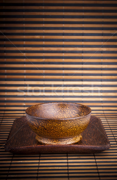 Wooden Bowls Stock photo © THP