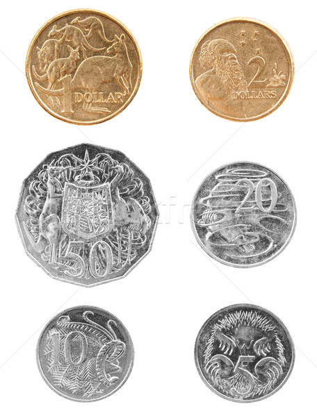 Stock photo: Australian Coins