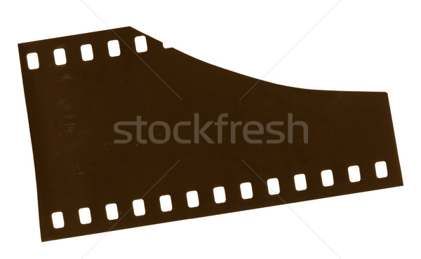 Film yüksek karar 35mm son yalıtılmış Stok fotoğraf © THP