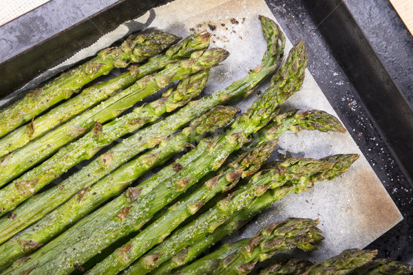 Grilled Asparagus Stock photo © THP